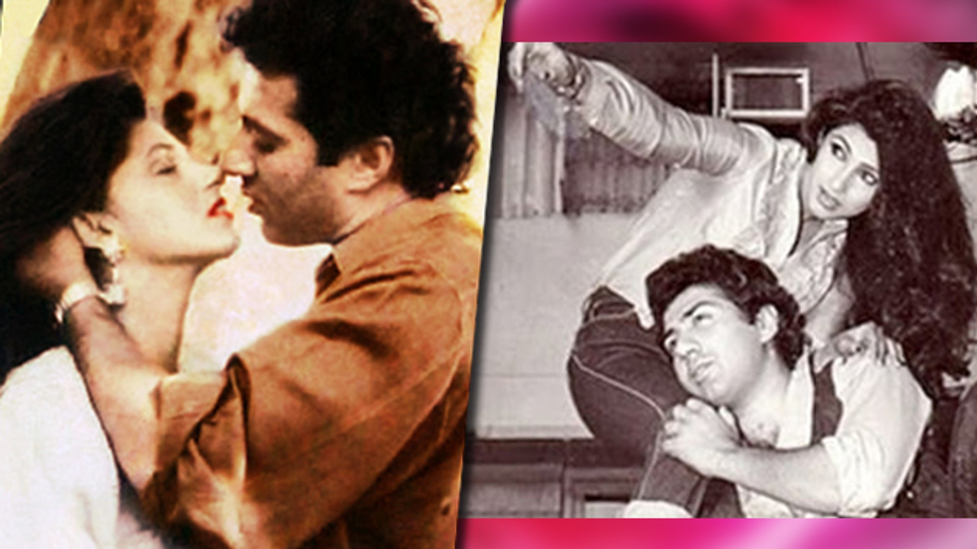 Sunny Deol And Dimple Kapadia's 'UNUSUAL LOVE AFFAIR' - video ...