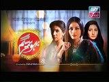 Bahu Begam Episode 117 Promo ARY Zindagi - 28th February 2015