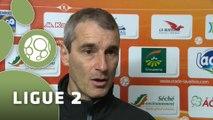 Conférence de presse Stade Lavallois - AC Arles Avignon (1-0) : Denis ZANKO (LAVAL) - Victor ZVUNKA (ACA) - 2014/2015