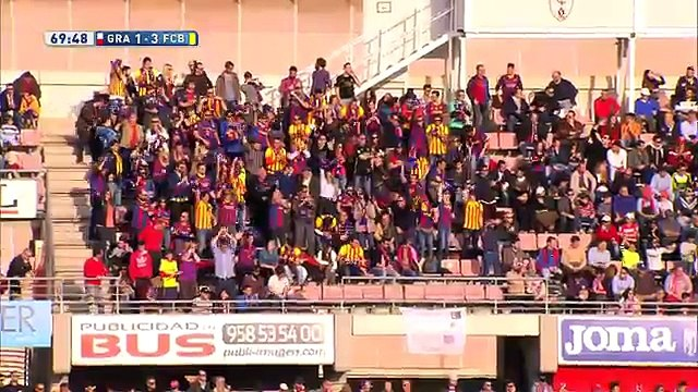 Barcelona: ¿Lionel Messi anotó su gol ante Granada en fuera de juego? (VIDEO)