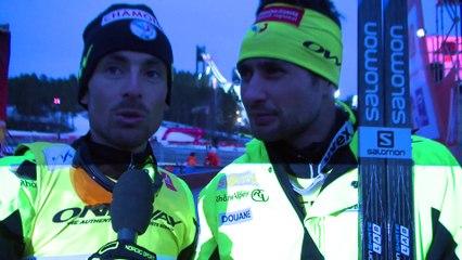 Interview de Jason Lamy Chappuis & Francois Braud, Champions du Monde 2015 en Team Sprint