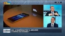 Axa: le numérique peut-il assurer le service aux assurés ?: Nicolas Moreau – 28/02