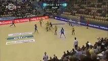 Une action de handball digne d'une anime japonaise