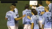 David Villa Fantastic Assist Goal New York City vs Charleston Battery