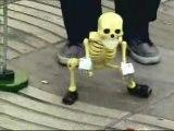 Avez-vous deja vu un squelette qui danse