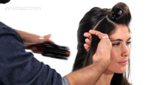 How to Blow Dry for Big, Bouncy Hair Salon Hair Tutorial.