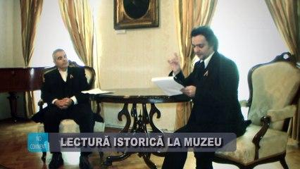 Lectura istorica despre Unirea Principatelor la Muzeul Casa Muresenilor