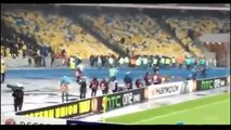 Dynamo Kiev vs Guingamp _ Riots & clash between Dynamo Kiev fans & Guingamp fans (Full video)