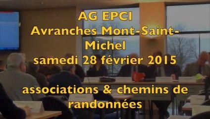 EPCI Avranches MSM - 28/02/2015 - association Odyssée et chemins de randonnée