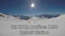 Ski 2015: Orcières Retour Station