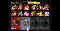 Super Smash Bros 64 - Luigi vs. Luigi [Super Mario Bros Version]