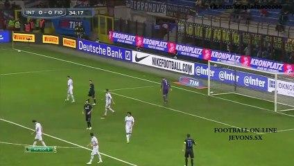 Inter vs Fiorentina (0-1) Full Highlights 01_03_2015 ~ Serie A [HD]