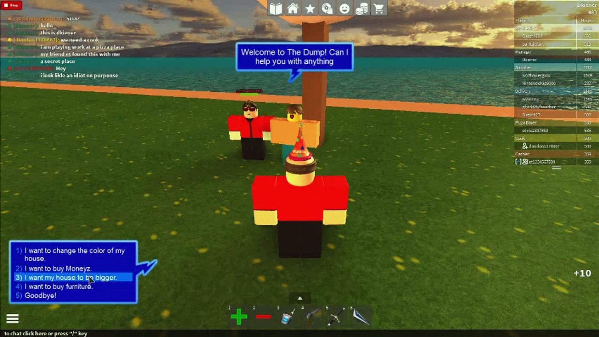 Roblox Work At A Pizza Place Secret Island Video Dailymotion