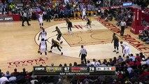 James Harden Flagrant Foul LeBron James - Cavaliers vs Rockets - March 1, 2015 - NBA Season 2014-15