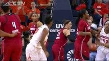 Louisville vs Virginia 2014-15 ACC Women's Basketball Highlights.