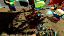 Gmod Sandbox Funny Moments VanossGaming Gore Mod, Bouncy Castle of Death, Early Christmas!