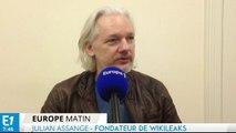 """Assange : """"La Russie ne m'a pas accusé d'espionnage, les Etats-Unis si !"""""""