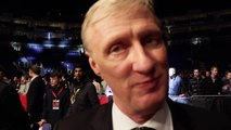Jimmy Lennon Jr talks Manny Pacquiao and Floyd Mayweather Jr while in London