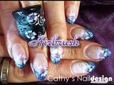 Naildesign Nailart Airbrush Nails