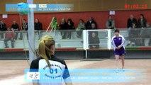 Quatrième tour, jeu traditionnel, Rives de Saône contre Bourg-en-Bresse, Sport Boules, J9 Elite Féminine, Saison 2014 /2015