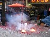 Nouvel An Chinois Vietnamien Pétard Chinatown Paris Happy Têt 2015 Mov3