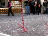Nouvel An Chinois Vietnamien Pétard Chinatown Paris Happy Têt 2015 Mov1