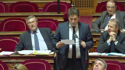 Mathieu Darnaud s'oppose au gaz de schiste lors de l'examen du projet de loi relatif à la transition énergétique