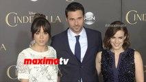 Agents Of S.H.I.E.L.D. Chloe Bennet, Brett Dalton, Elizabeth Henstridge CINDERELLA World Premiere
