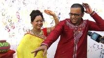 Aatmaram Bhide And Madhavi Bhide Celebrates Holi   INTERVIEW   Sab Ke Rangotsav