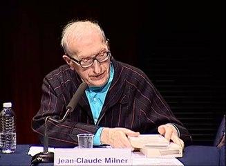 Vid�o de Jean-Claude Milner