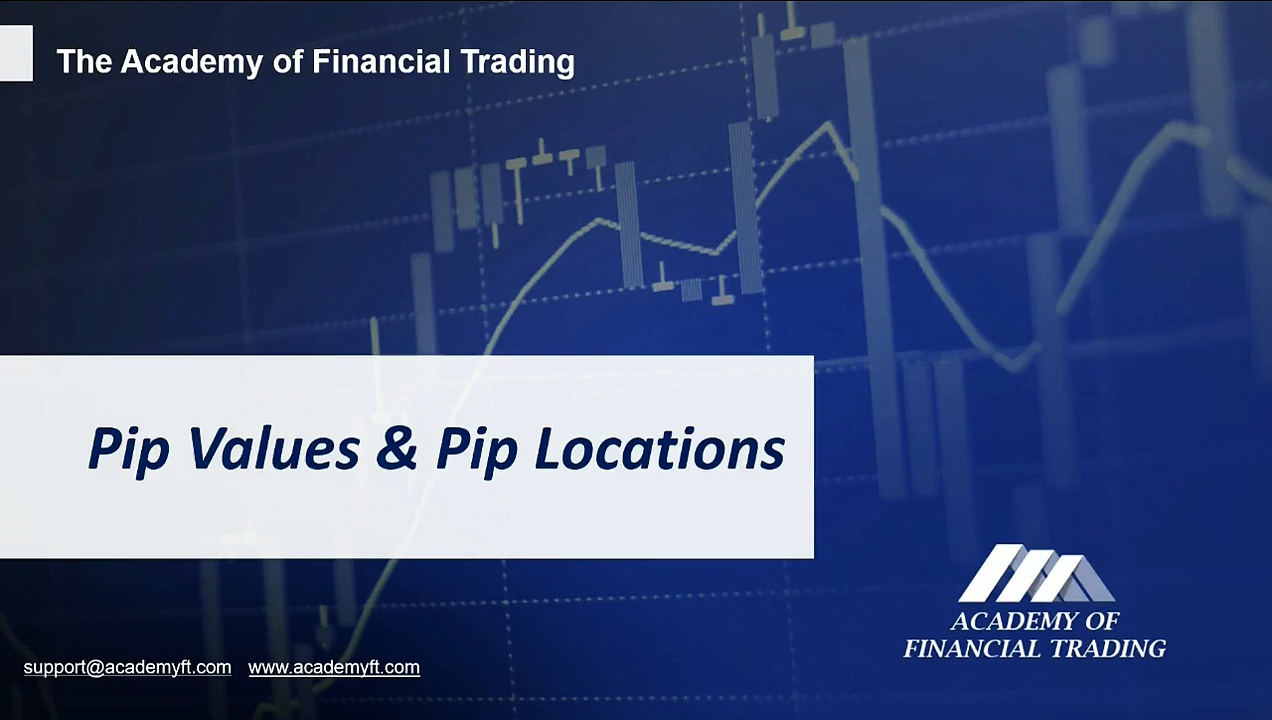 Pip value and Pip locations – Academy of Financial Trading