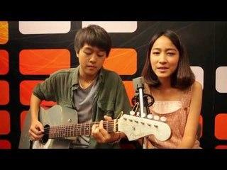 รักต้องเปิด (แน่นอก) Acoustic version - 3.2.1 feat.ใบเตย อาร์สยาม [cover] Pie and Cha