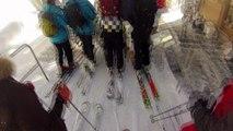 Session ski à la clusaz - Gopro