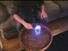 LED Light up Lighted Flashing Magnetic Gyro Wheel YoYo Top R