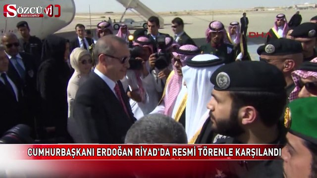 Arabistan Kralı Erdoğan'ı böyle karşıladı