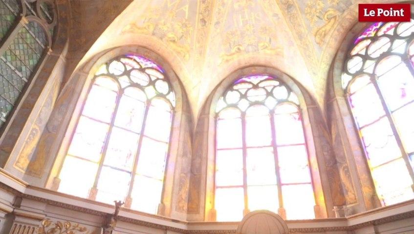 Visite interdite du château de Fontainebleau #2 : Le baptême de François II dans la chapelle basse Saint-Saturnin