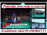POOL WRESTLING , CATCH PISCINE, CATCH SUR L'EAU, RING FLOTTANT