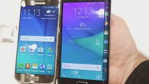 Samsung Galaxy S6 vs Samsung Galaxy Note Edge- First look