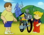 Denis la Malice - S01E47 - Denis le démolisseur / Une bicyclette transformable / Denis et les chiens