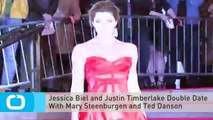 Jessica Biel and Justin Timberlake Double Date With Mary Steenburgen and Ted Danson