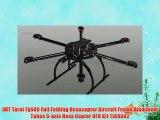 JMT Tarot Fy680 Full Folding Hexacopter Aircraft Frame Aluminum Tubes 6-axis Hexa Copter UFO