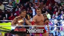 Santino Marella & Vladimir Kozlov vs Jimmy & Jey Usos, WWE Monday Night RAW 17.01.2011