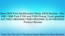 New Oem Ford Multifunction Relay Gem Module Fits 1997