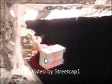 NASA ISS Camera spots ufo then goes blue screen again