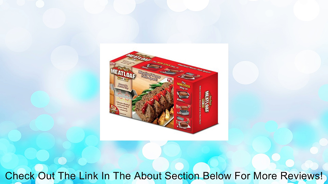 Allstar Marketing Group PE011106 Perfect Meatloaf Pan Set, As Seen on TV Review
