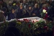 Foule moscovite pour les obsèques de Boris Nemtsov