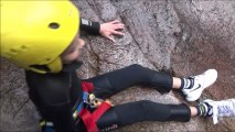 experience canyoning en corse