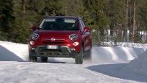 Fiat 500X Proving Ground Center of FCA in Arjeplog, Sweden Trailer