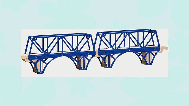 Thomas and Friends Wooden Railway - Sodor Bay Bridge Learning Curve