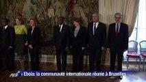 Ebola: la communauté internationale serre les rangs à Bruxelles